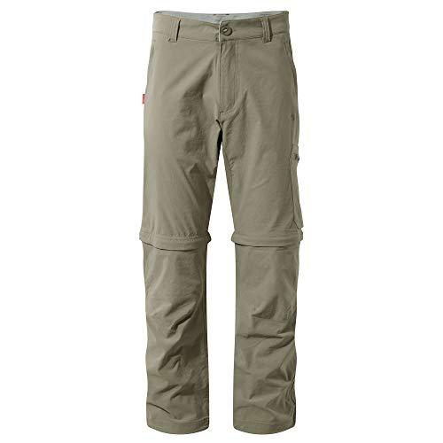 Craghoppers Mens NosiLife Pro Convert Trousers Pebble 32...