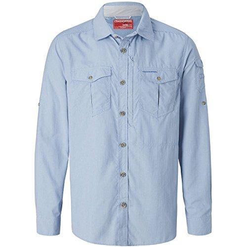 Craghoppers Herren Nl ADV Ls Hemd, Fogle Blau, XL