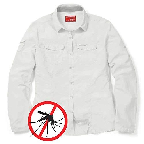 Craghoppers Adventure Mückenschutz Damenbluse, Weiß, 42