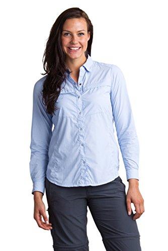 ExOfficio Women's BugsAway Halo Stripe Long Sleeve,...