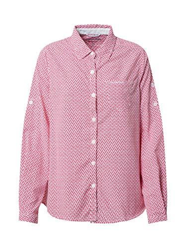 Craghoppers NosiLife Verona II Long Sleeved Shirt rosa - 36