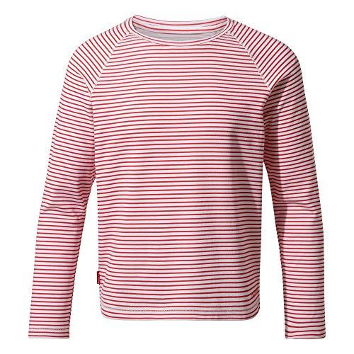 Craghoppers Girls NosiLife Paola Langarm-Shirt Rot, Damen...