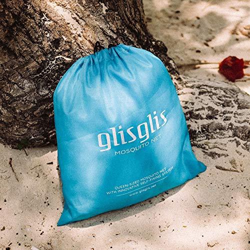 GlisGlis Blue Cube – XL Moskitonetz in Würfelform