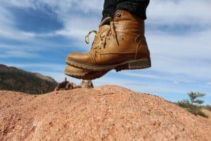 Feste Schuhe Safari-Reise