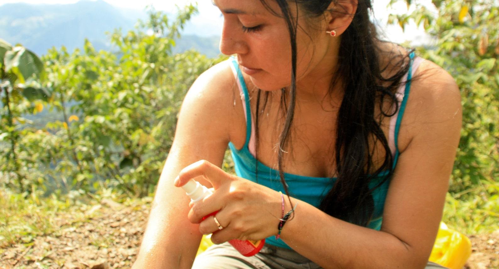 Mückenspray Test